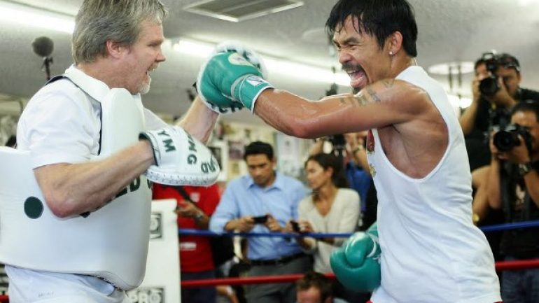 Freddie Roach looks at Manny Pacquiao's future