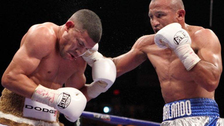 Orlando Salido again at home in enemy territory vs. Roman Martinez
