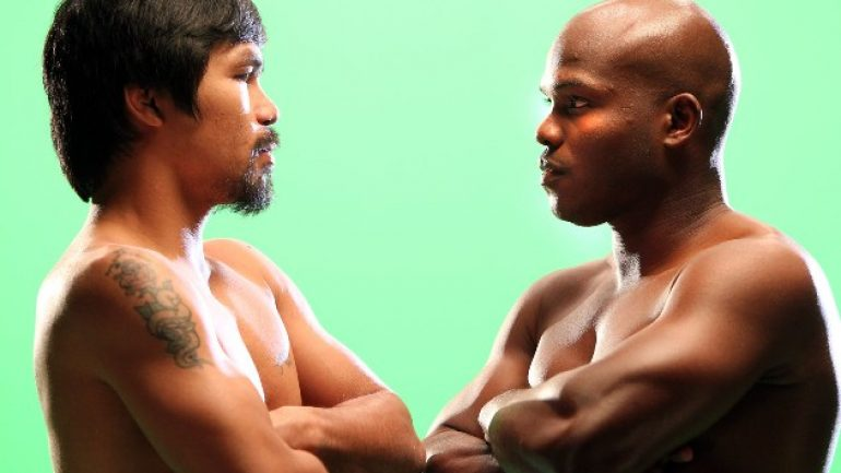 "Pacquiao foe Bradley to featured on HBO's ""Portrait of a Fighter"""