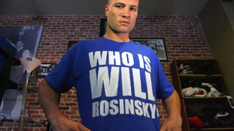 Will Rosinsky may return on Jacobs-Quillin undercard