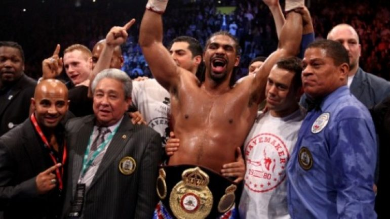 David Haye: Talented former champion remains current