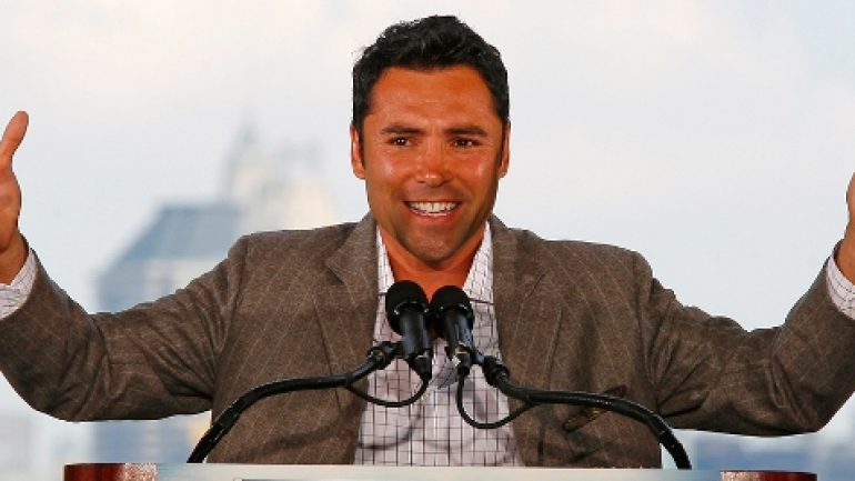 Oscar De La Hoya: I don't care what it takes, I will end the Cold War