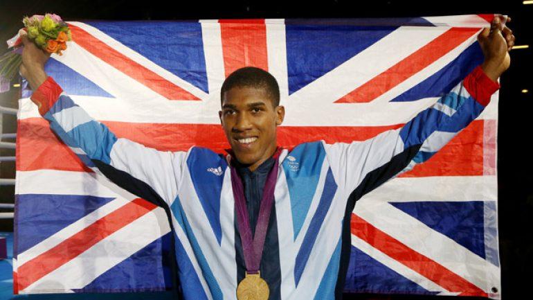 British heavyweight star Anthony Joshua will return on May 9