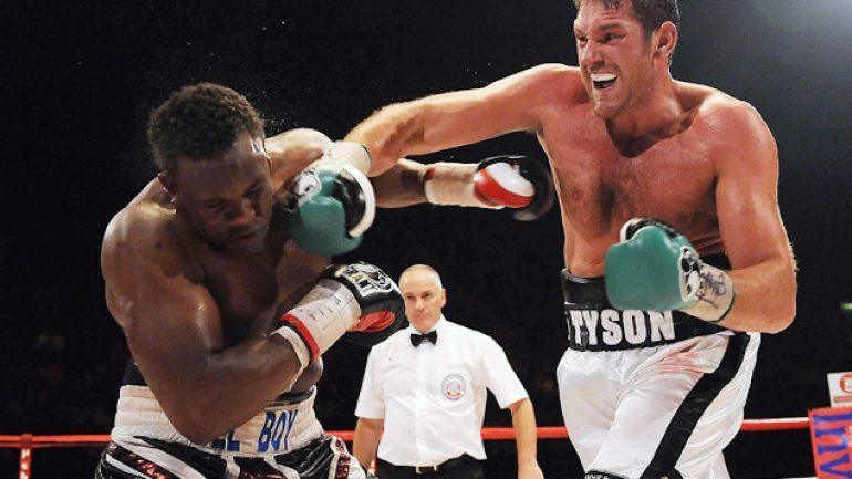 Dereck Chisora-Tyson Fury eliminator on July 26
