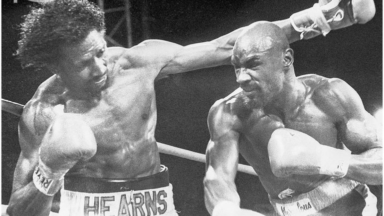 "Marvelous Marvin Hagler recalls ""The War"" with Thomas Hearns"