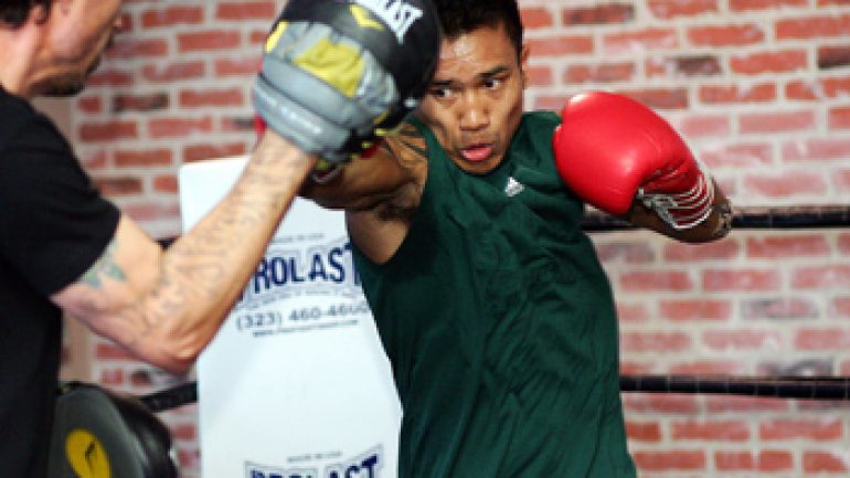 Mercito Gesta returns against Edgar Riovalle on April 11