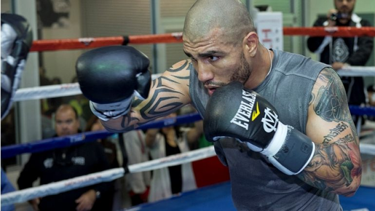 Miguel Cotto is in preliminary discussions to face James Kirkland on June 18