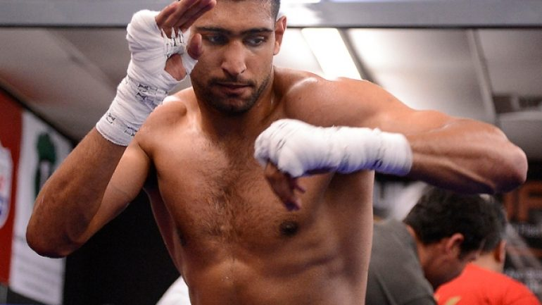 Schaefer: Khan-Collazo 'done' for Mayweather Jr.-Maidana card