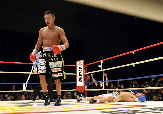 NewsJapanese boxing closes out the year with a bang