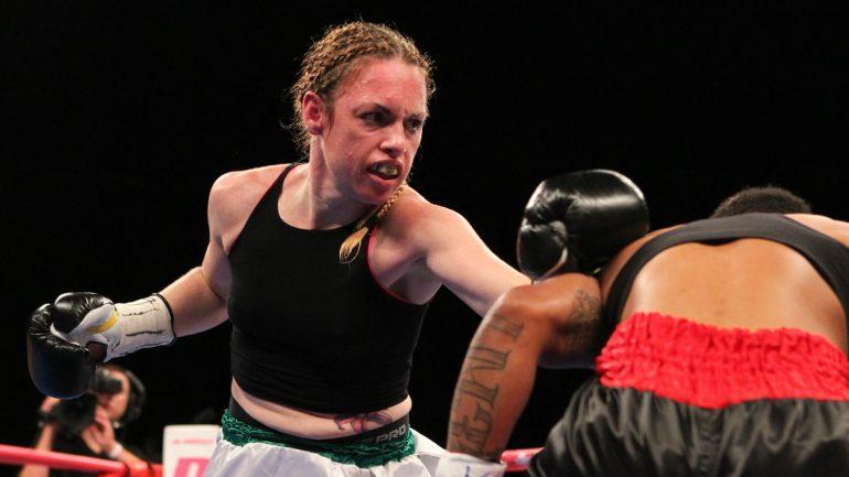 Heather Hardy: 'I'm not going in versus Amanda Serrano to lose'