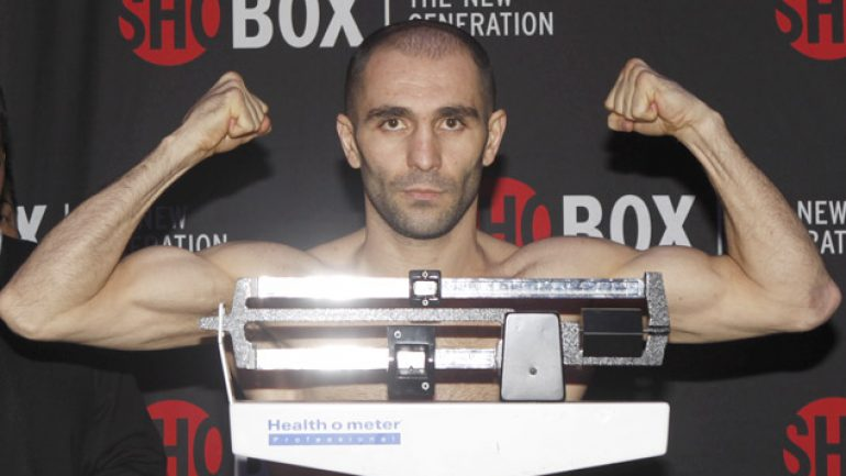 Art Hovhannisyan looks to rebound from first loss on FNF