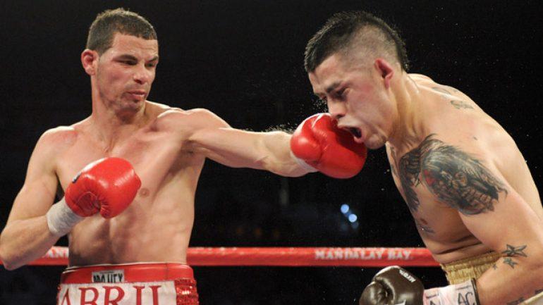 Richar Abril-Derry Mathews fight off due to illness
