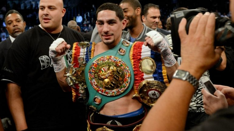 Danny Garcia: 'Philadelphia's my birthplace; Puerto Rico's is my blood'