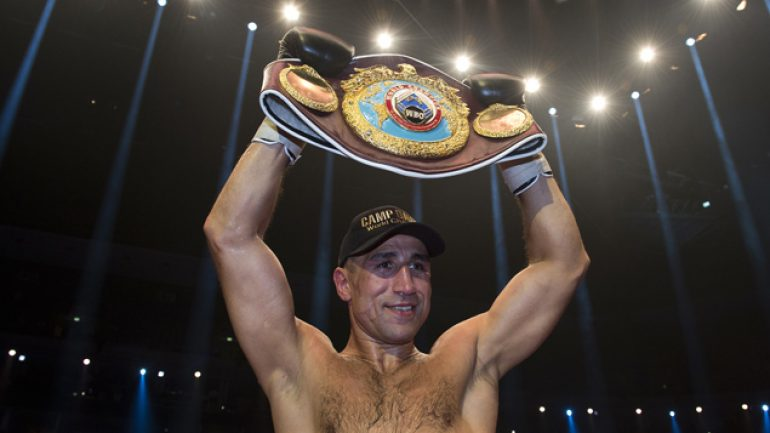 Arthur Abraham defeats Robert Stieglitz to regain WBO title