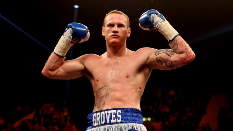 George Groves demands loss to Carl Froch is wiped from history
