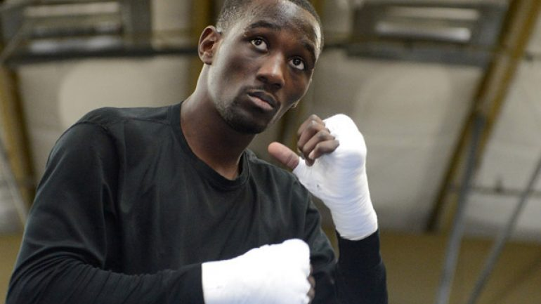 Calm, calculating Terence Crawford takes aim at junior welterweight