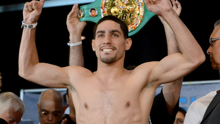 Danny Garcia on the pound-for-pound best: 'I'm one of them'