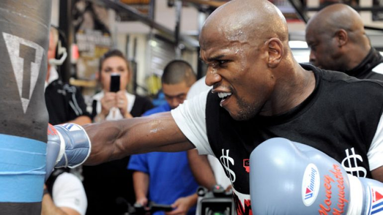 Tuesday Floyd Mayweather Jr. media day to be live streamed