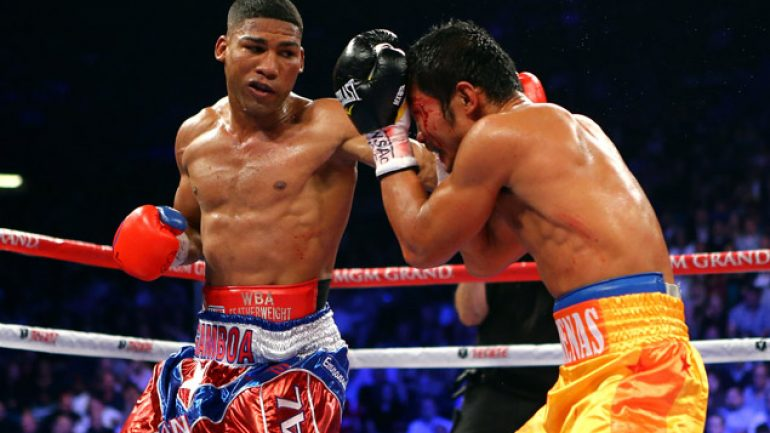 Yuriorkis Gamboa wants date with the Axe Man