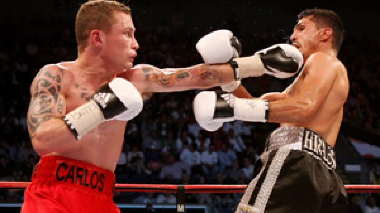 Carl Frampton faces Hugo Cazares in WBC 122-pound eliminator