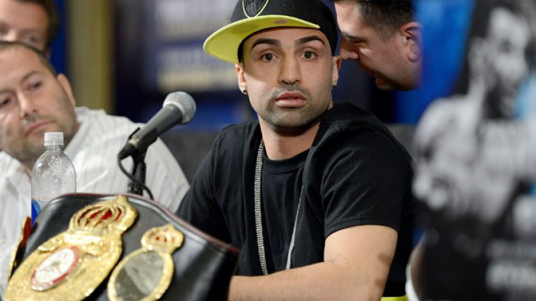 Malignaggi suffers cut in training, May 29 bout vs. O'Connor nixed
