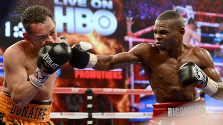 Rigondeaux on Oct. 5 Cotto card?