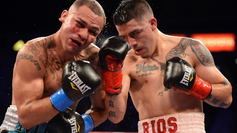 Carl Moretti: Brandon Rios-Mike Alvarado III set for Jan. 24