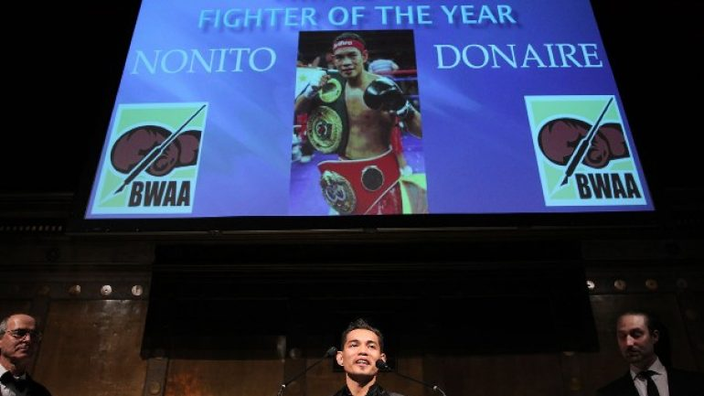 Donaire discusses weight, comeback