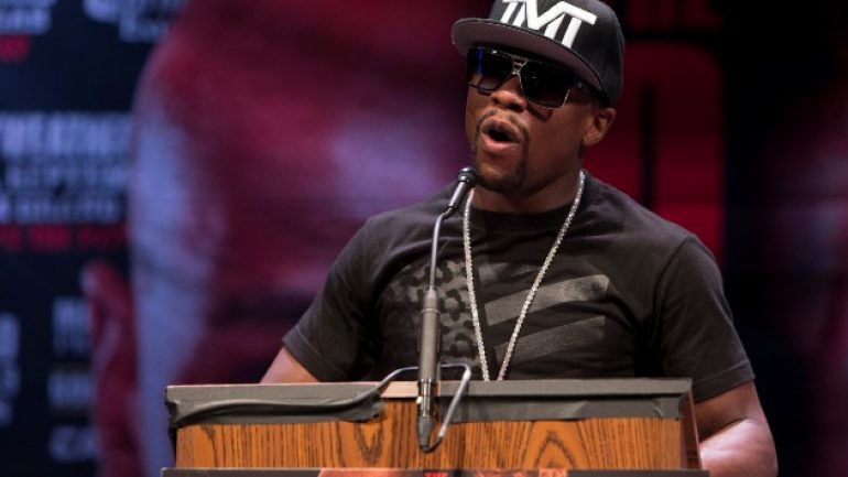 Floyd Mayweather: 'September 2015 will be my last' fight