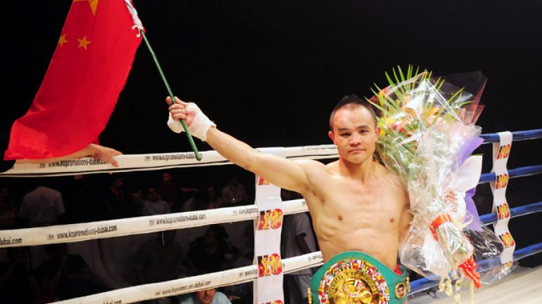 Novoa stops Xiong in five to wrest WBC minimumweight title