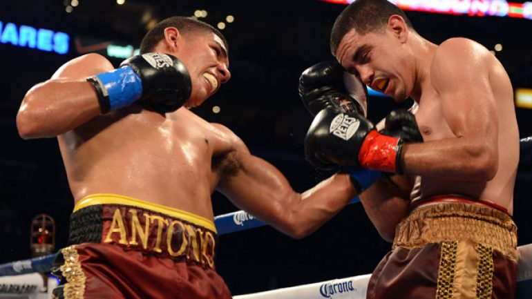 Orozco survives first-round scare, stops Huerta in second
