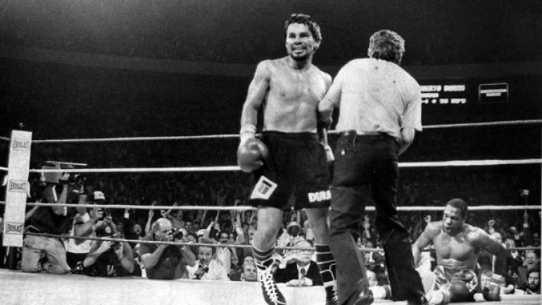 Hands of Stone: 10 fights that cemented Duran's legend
