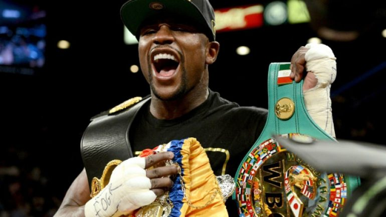 Ring Ratings Update: Mayweather stripped of RING 154-pound title