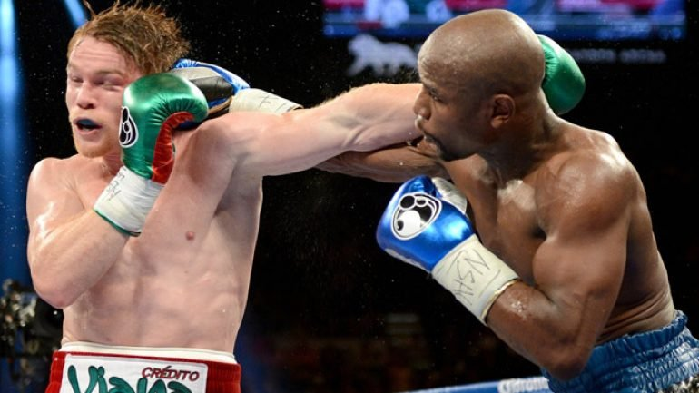 Mayweather-Alvarez streamed live from Mexico City
