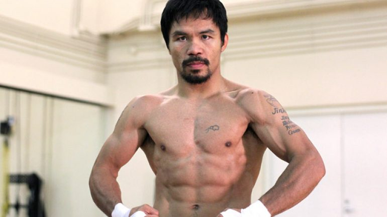 Manny Pacquiao to 'get back' what Tim Bradley 'took'