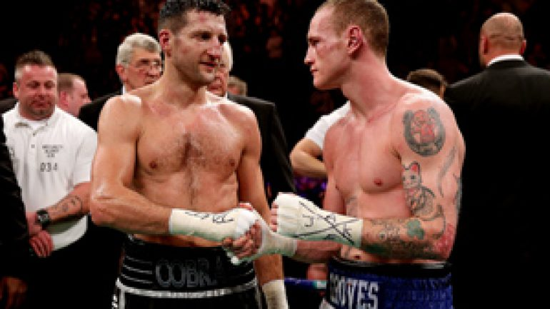 IBF confirms Carl Froch-George Groves II is a done deal