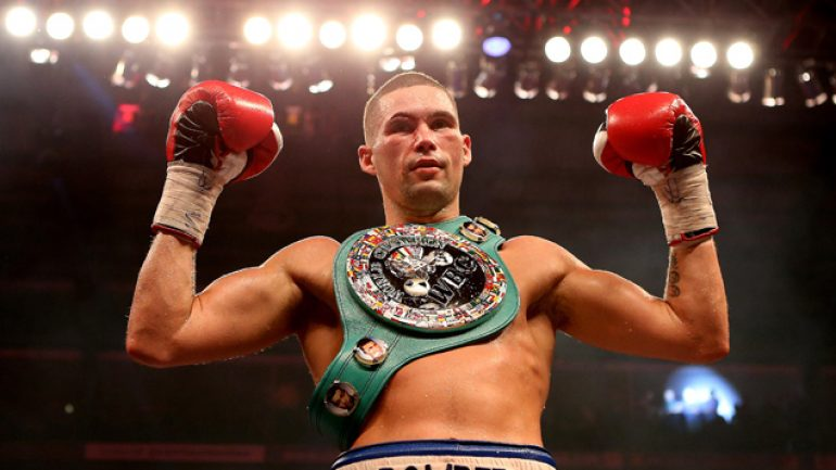 Tony Bellew ready for kickoff against Ilunga Makabu
