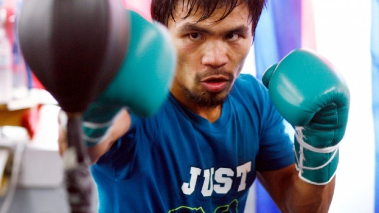 Pacquiao Workout