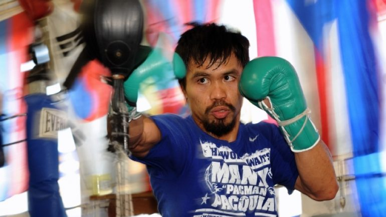 Pacquiao Media Day II