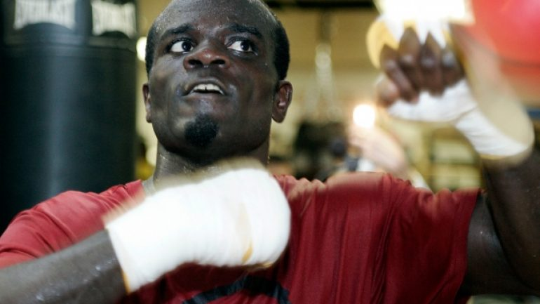 Joshua Clottey, Anthony Mundine trade verbal jabs before April 9 bout