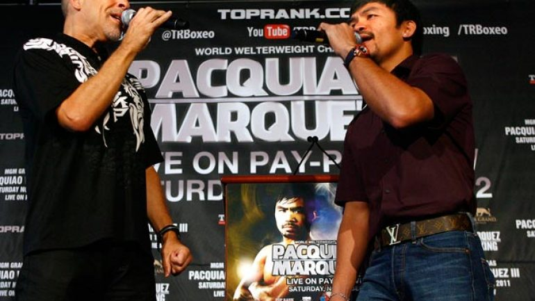 Pacquiao-Marquez NYC news conference