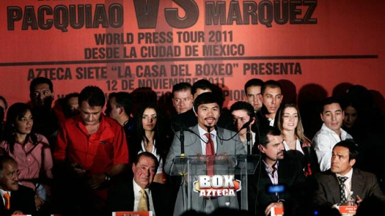Pacquiao-Marquez in Mexico City