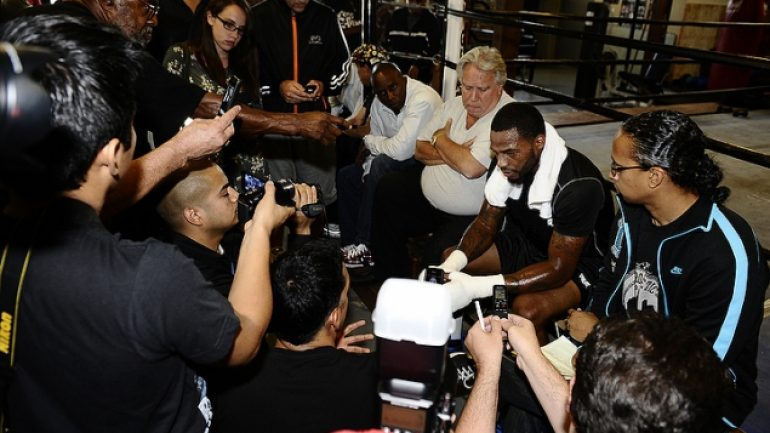 Chad Dawson L.A. workout