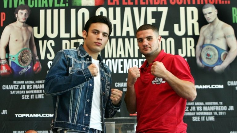 Chavez-Manfredo press conference