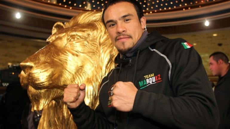 Juan Manuel Marquez eyes Mike Alvarado on May 17