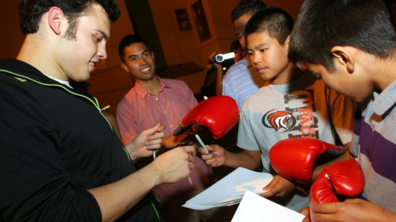 Chavez Jr. workout 7-31-12