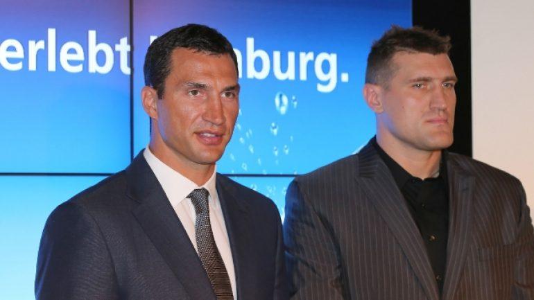 Klitschko-Wach press conference