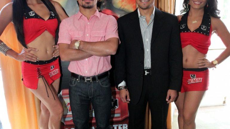 Pacquiao-Marquez IV LA kickoff