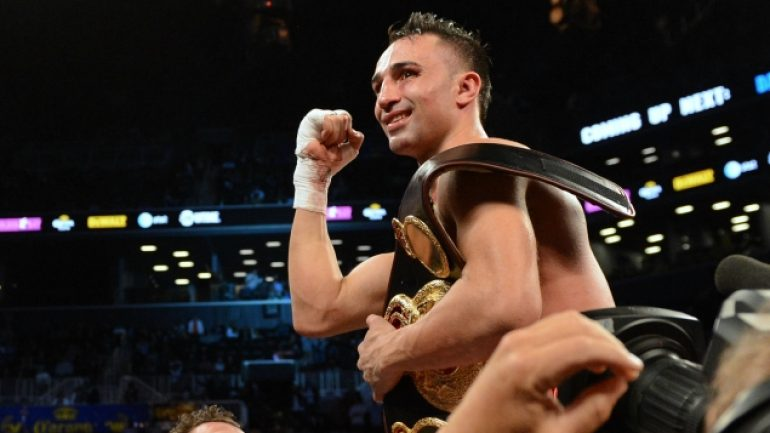 Paul Malignaggi's hometown comeback fight