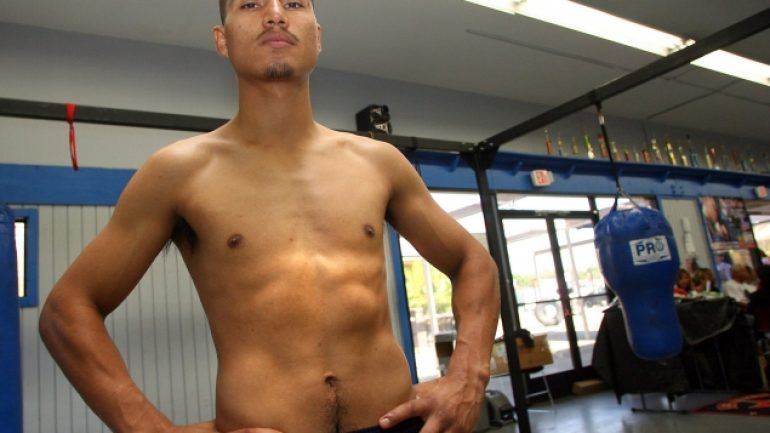 Mikey Garcia workout 11-3-12